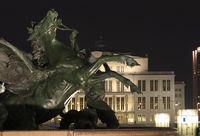 Mendebrunnen fountain, Leipzig, Germany