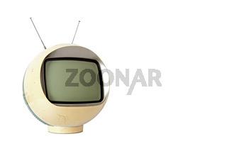 Vintage Yellow TV