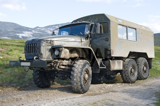 Offroad truck Ural