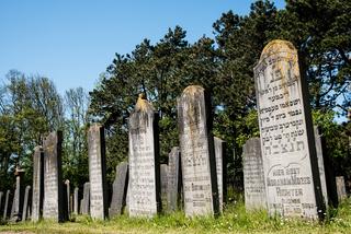 Den Helder, the Netherlands. June 3, 2021.The old dilapidated graves of the Jewish cemetery in Den Helder, the Netherlands.