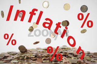Symbolfoto Inflation