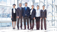 Multi ethnic group of business people