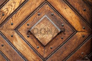 Square Pattern Vintage Door Background
