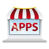 Apps shop window