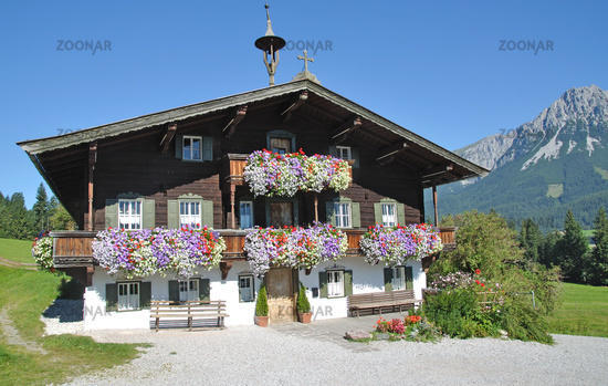 typical Tyrolean House,Austria