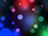 Abstract blurs of lights