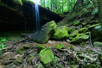National Forest Waterfall Alabama