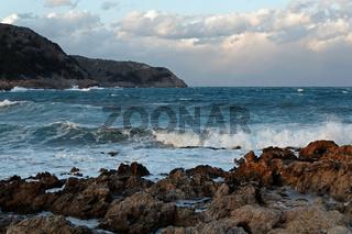 Die Bucht Cala Agulla auf Mallorca