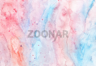 Abstract Watercolor Texture For Background