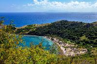 Anse Pompierre, Terre-de-Haut, Iles des Saintes, Les Saintes, Guadeloupe, Kleine Antillen, Karibik.