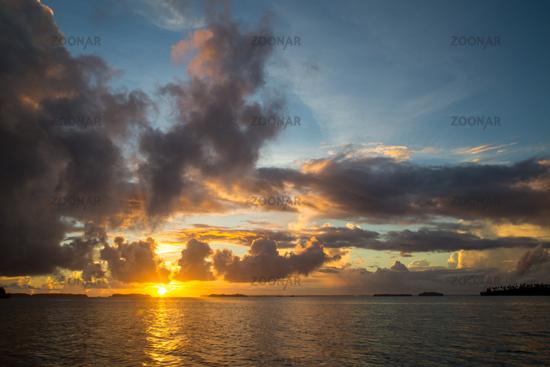 Solomon Islands sunrise