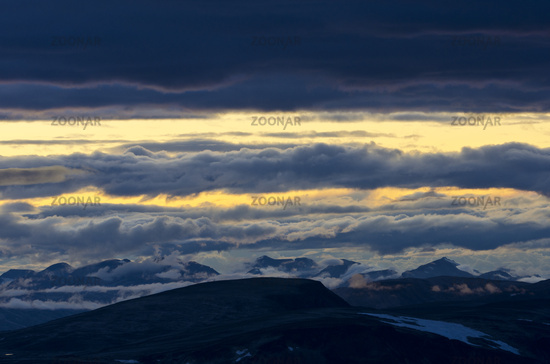 evening, Dovrefjell-Sunndalsfjella NP, Norway
