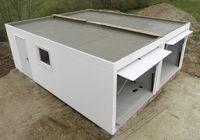 Concrete Double Garage