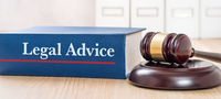 A law book with a gavel - Legal Advice