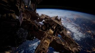 Highly Detailed Huge Spaceship