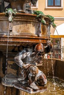Cholerabrunnen in Dresden, Sachsen, Deutschland