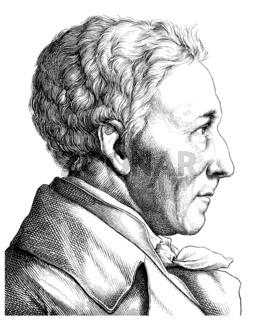 Albrecht Daniel Thaer, 1752 - 1828, founder of Agricultural Scie