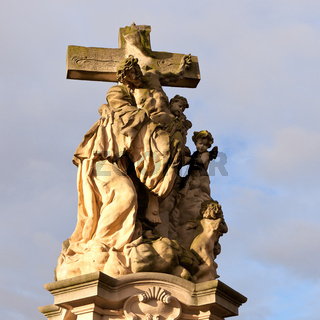 Statue of jesus christ crucified