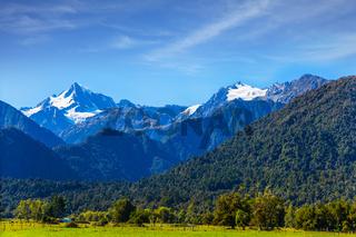 The highest peak of New Zealand