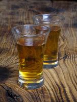 Rum in glass