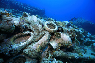 Schiffswrack der Jolanda, Jolanda Shipwreck