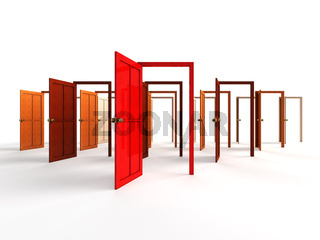 Open doors - welcome