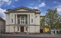 Theatre Carl Maria von Weber of Bernburg town.