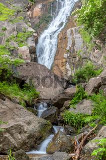 Am Barbianer Wasserfall, Suedtirol