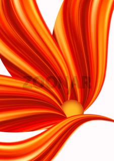 Abstrakte Blüten