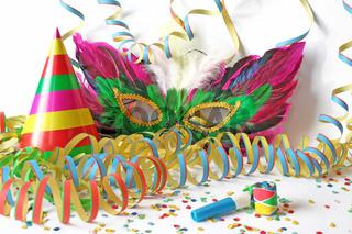 Deko für Karneval, Fastnacht und Fasching