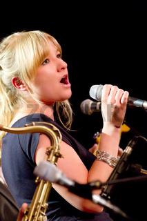 Laura Fischer im Konzert