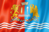 Ivanovo state - Oblast -  flag, Russia