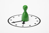 Pawn on a clock