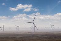 wind farm on western wilderness