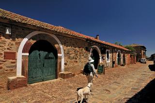 Spanien: Pilgerin in Castrillo de los Polvozares