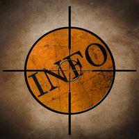 Info target