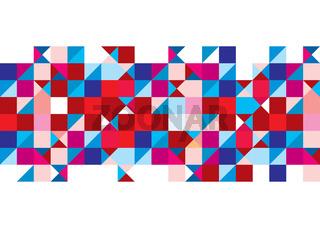 Tricolour pattern background