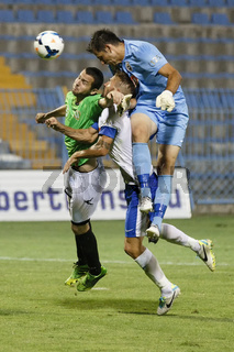 MTK vs. Haladas OTP Bank League football match
