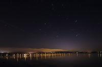 night lake