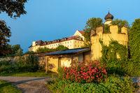 Bernried monastery, Lake Starnberger See, in morning light