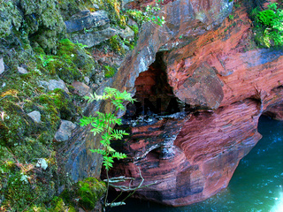 Apostle Islands Sea Cave - Wisconsin