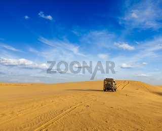 Desert safari  background