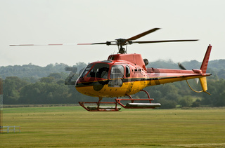 AS.350 helicopter