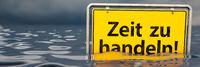 Time to act (in German: Zeit zu handeln)