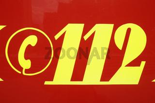 German 112 emergency number