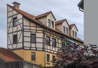 The timber-fram house