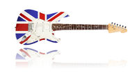 electric guitar, Union Jack