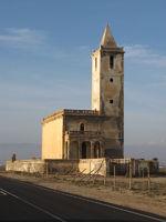 declined church of La Almadraba (south spain)
