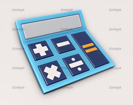reduced calculator sign symbol