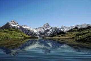 Schweizer Alpen bei Grindelwald